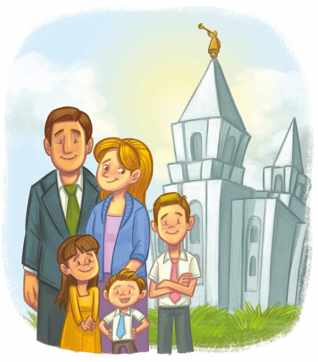 family praying lds